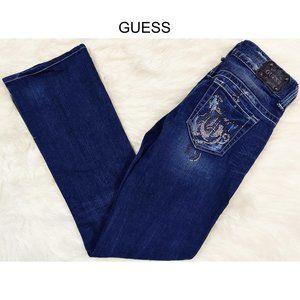 GUESS Jeans Bootcut Sz 27 Stretch